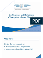 2 Key Concepts and Definitions of Competency-based Education