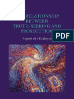 The Relationship Between Truth Seeking and Prosecution- ICES