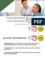 PPT for Presentation Aditia Ananda