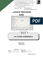 Tp02 Les Circuits Combinatoires UNVERSITY