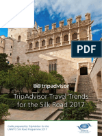 TripAdvisor Travel Trends for the Silk Road 2017