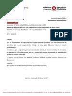 Aparcabicis Campaña 2017 (01/2017)