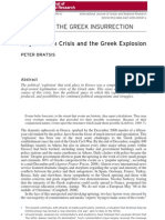 Legitimation Crisis and the Greek Explosion