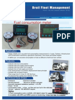 Vehicle Fuel Consumption Meter
