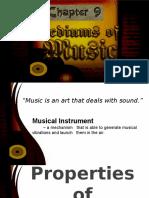 Group 9 - Mediums of Music