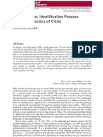 Neoliberalism Identification Process and the Dialectics of Crisis