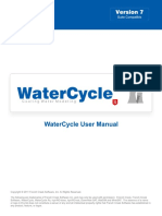 WaterCycle Rx User Manual