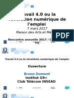 Institut G9+ - Rencontre Annuelle 2017 - présentation sans vidéo