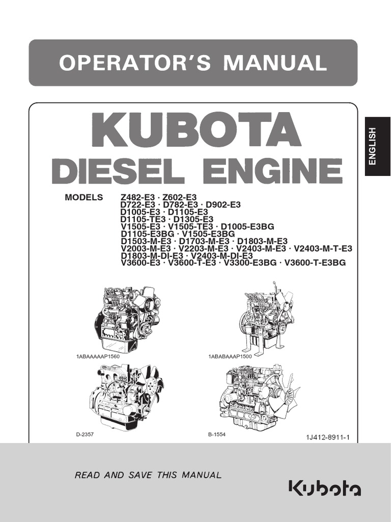 Kubota engines shop manual & parts catalog fcar diagnostic tool.