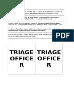 Kasus Triage 2017