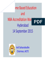 Obe and Nba Accreditation