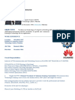 Fawad Resume Networking