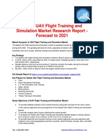 Global UAV Flight Training and Simulation Market Research Report - Forecast to 2021
