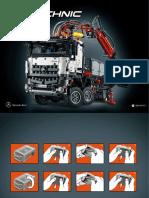 Lego Technic 42043 Manual 1