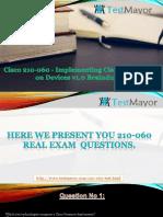 210-065 Practic Questions