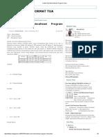 Contoh Soal Minimalisasi Program Linear