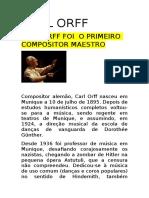 Carl Orff Matilde e Miguel Silva