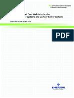VEC Web Interface Manual SECTION5982 Netsure Vortex Ethernet Card Web Interface