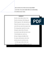 Sonnet 97 Essay