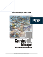 ServiceManager - Guide - VM User Guide