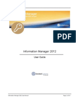 Information Manager - Guide