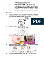 Articulacion Fonema r Suave Tarea k 1 y 2