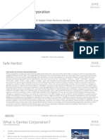 Advanced Supply Chain Planning and Production Scheduling Case Studies