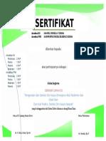 Sertifikat Seminar Januari 2017