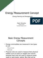 Energy Measurement Concept