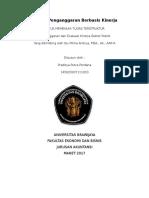 Praditya Putra Perdana_145020307111010_Penganggaran Tugas Ke 2