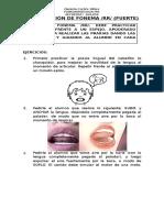 Articulacion Fonema Rr Fuerte Tarea k 1 y 2
