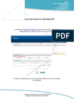 Uploading CPD Helpsheet