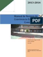Acuerdos de Convivencia Esc y Comunitaria 2013-2014 Aprobado