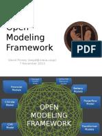 Open Modeling Framework Intro