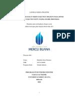 Analisis Kerusakan Mesin Injection Molding pada Divisi Plastic Injection di PT. Padma Soode Indonesia