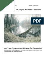 Ein Zeugnis Deutscher Geschichte