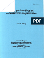 economic patterns in andhra village