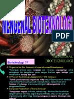 mengenal bioteknologi