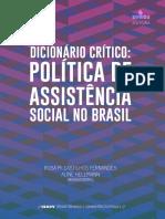 Dicionário Critico de Assistencia Social.pdf