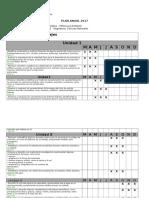 Plan Anual Ciencias 2º Basico