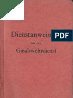 Dienstanweisung für den Gasabwehrdienst