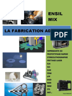 La Fabrication Additive ENSIL