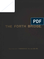 A Critical Anaylsis of the Forth Bridge