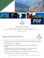 Agua Rica - Alumbrera
