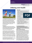 nature - wellbeing   health