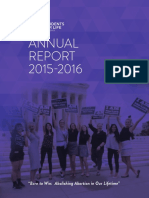 Students for Life of America's 2015 - 2016 Annual Report