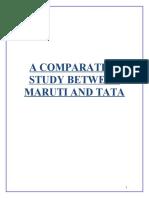ion Between Maruti and Tata