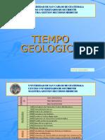 Tiempo Geologico Maestria Rec Hidricos
