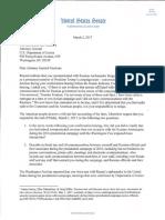 Al Franken Letter to Sessions