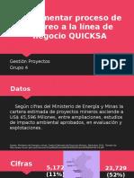 Implementar Acarreo a La Línea de Negocio QUICKSA-1
